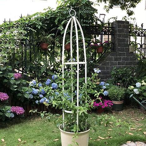 WXLSQ Jardín Puesto De Flores Obelisco Parra Pergola Planta ...