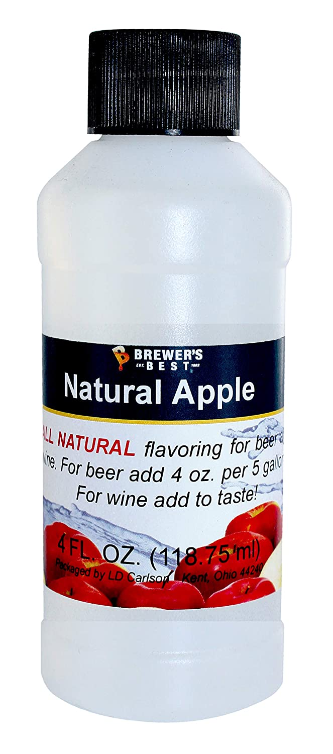 Brewer's Best Apple Natural Beer and Wine Fruit Flavoring