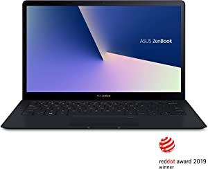 Asus ZenBook S UX391UA-XB74T Ultra-Thin and Light 13.3-Inch UHD 4K Touch Laptop, Intel Core i7-8550U, 16GB 2133MHz RAM, 512GB PCIe G3x4 SSD, Windows 10 Pro, FP Sensor, Thunderbolt
