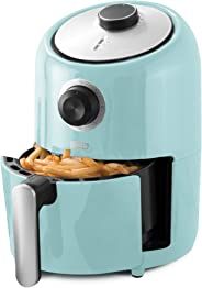Dash Compact Air Fryer 1.2 L Electric Air Fryer Oven Cooker with Temperature Control, Non Stick Fry Basket, Recipe Guide + A