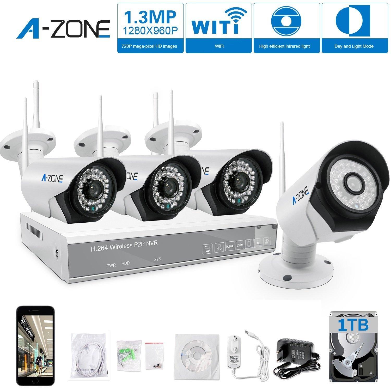 Schema Collegamento Nvr : A zone kit videosorveglianza wifi canali p wifi nvr