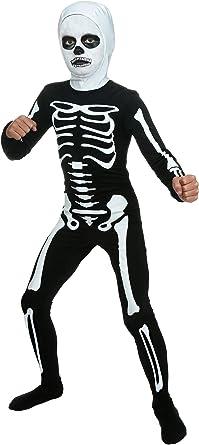 Disfraz de esqueleto para niños de karate - Blanco - Medium ...