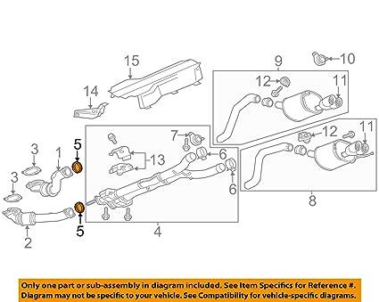 amazon com general motors 10354707 catalytic converter gasket rh amazon com 2001 Chevy 1500 Transmission Diagram 2001 Chevy 1500 Transmission Diagram