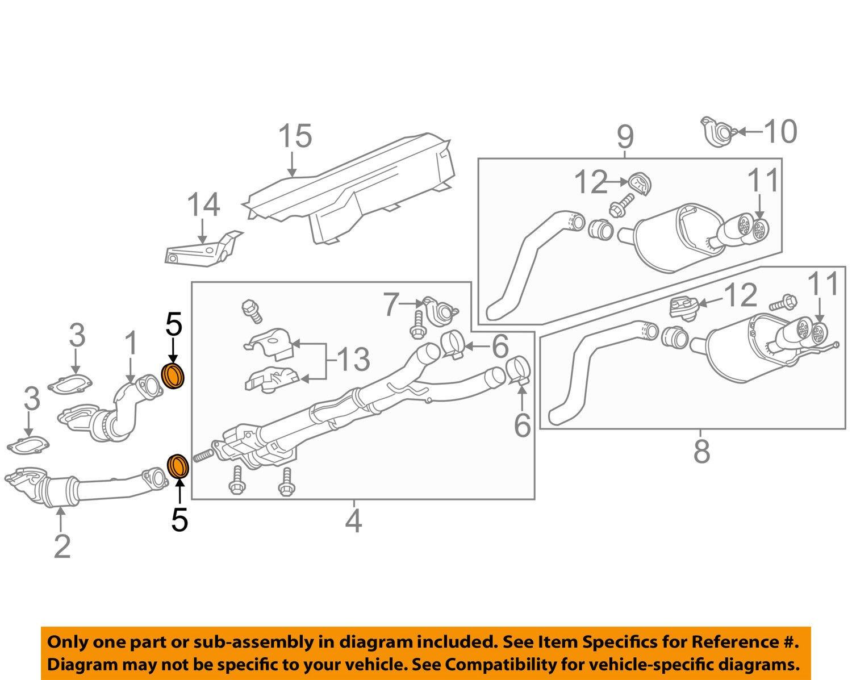 General Motors 10354707, Catalytic Converter Gasket