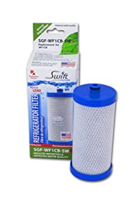 Swift Pharmaceutical Water Filter(SGF Rx) Frigidaire WF1CB Compatible Refrigerator Water Swift Green Filters, SGF-WF1CB Rx, 1pack