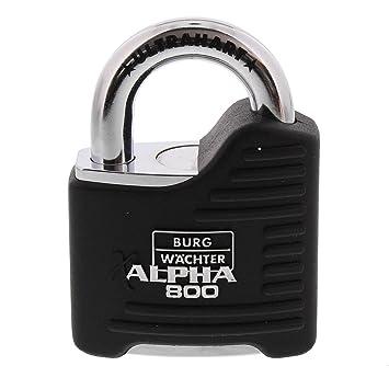 Burg-Wächter Alpha 800 65 SB Candado Diámetro Arco 11 mm: Amazon.es: Bricolaje y herramientas