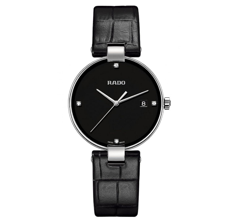 Rado r22852705 Coupoleメンズ腕時計 – ブラックダイヤル B010C7RCY2