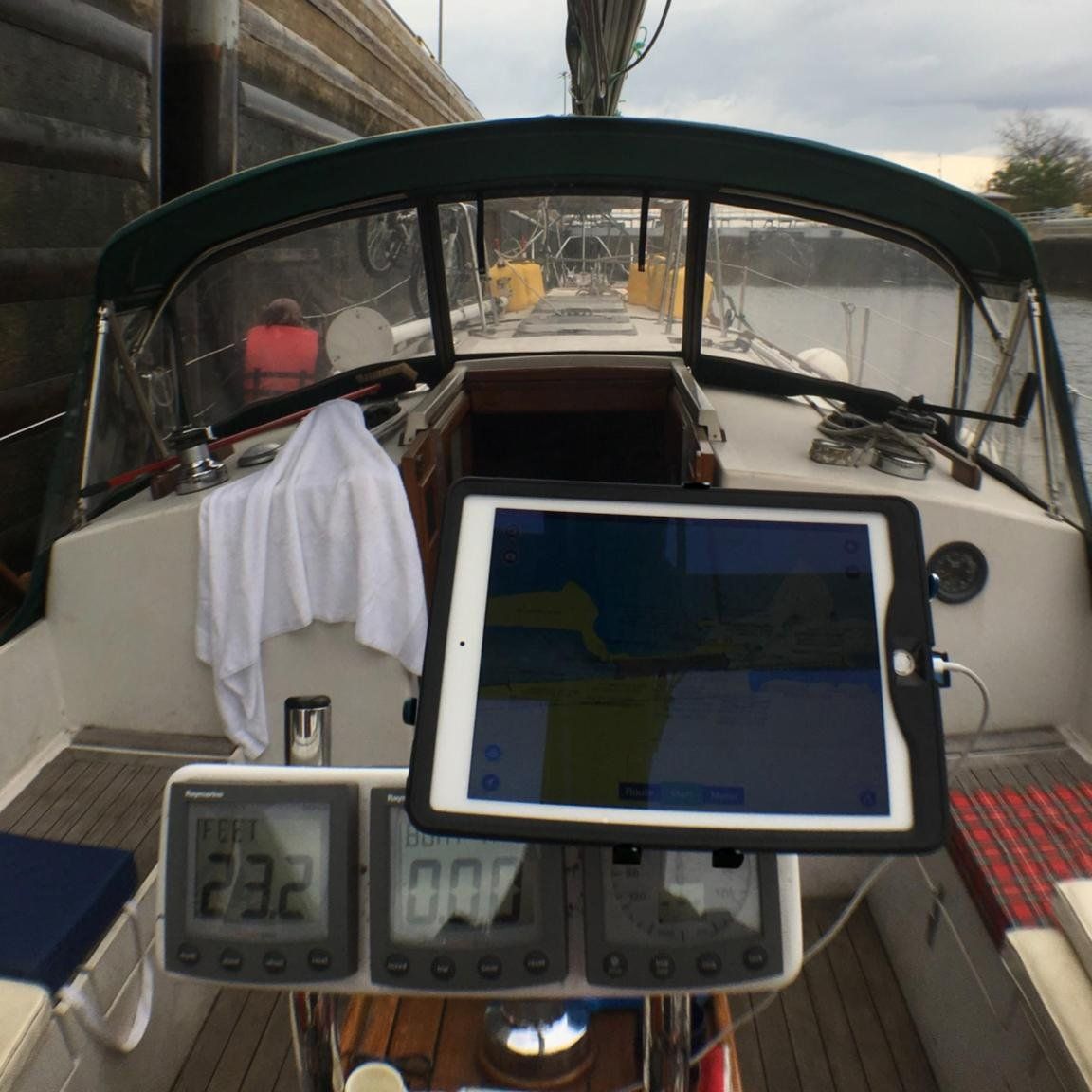 Universal Tablet Mount For Boat Cockpit Helm The Best Download Image Wiring Diagram Pc Android Iphone And Ipad Fully Adjustable Clamp On Secure Heavy Duty Holder With Anodized Aluminum Joints