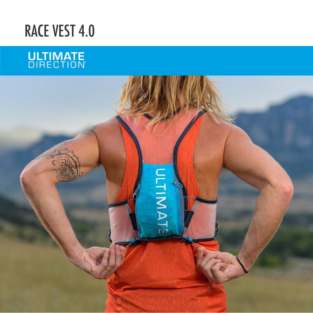 Ultimate Direction Race Vest 4.0, Signature Blue, Large by Ultimate Direction (Image #6)
