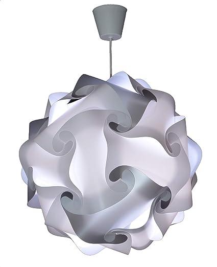 CREATIV LAMP - Suspension Luminaire - Lustre Chambre Prêt à Être Branché    Abat-Jour à Suspendre au Plafond    Pour Décoration Salon, Chambre Enfants,  ...