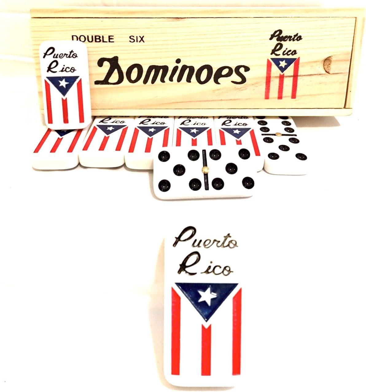 Puerto Rico Dominoes, Puerto Rican Dominoes Game set, Boricua style