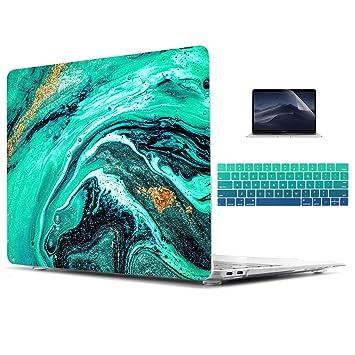 Amazon.com: Carcasa rígida de cristal para Apple MacBook Pro ...