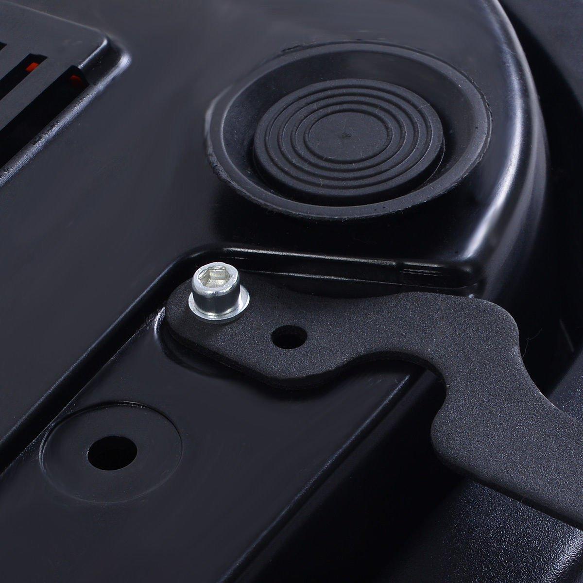 Tangkula Ultrathin Mini Crazy Fit Vibration Platform Massage Machine Fitness Gym (Black) by Tangkula (Image #9)