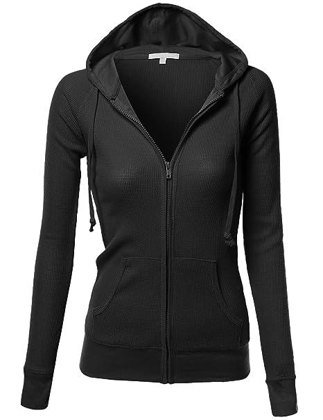 Amazon.com: Xpril - Chaquetas con capucha para mujer con ...