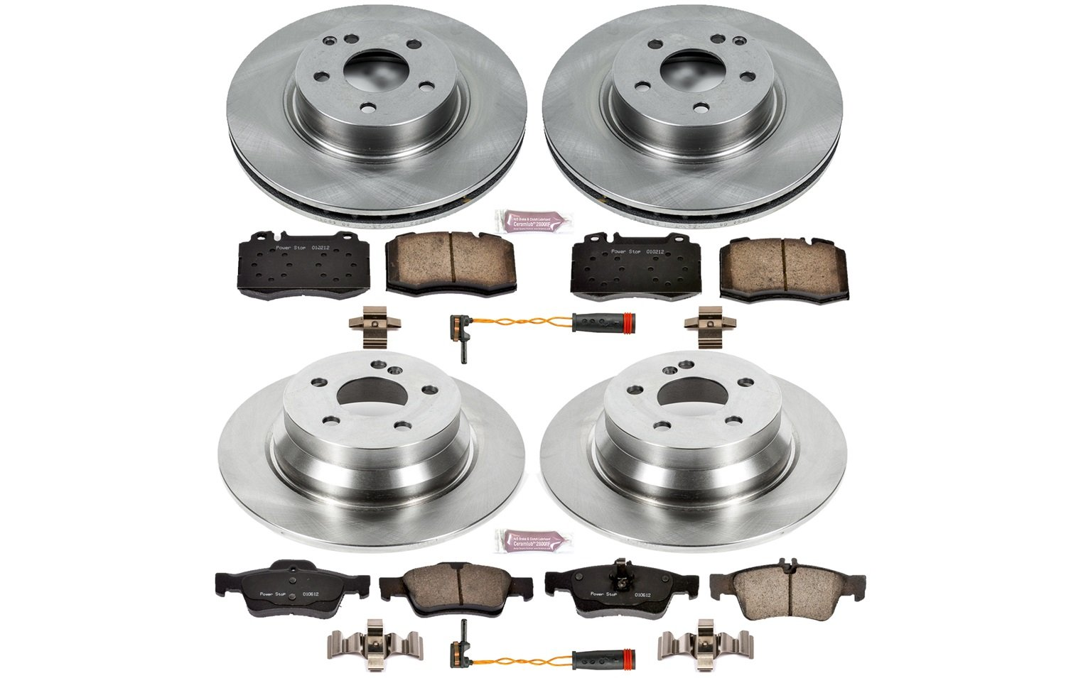 1-Click OE Replacement Brake Kit Autospecialty KOE4513
