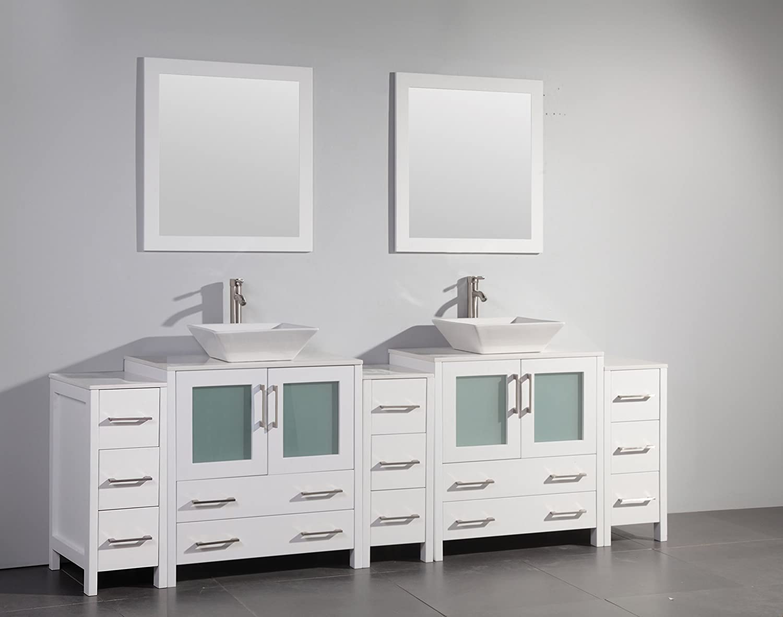 Vanity Art 12 inch Vanity Cabinet VA3130-12-W