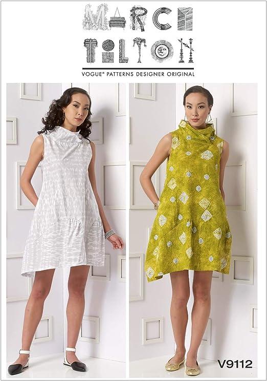 Vogue Sewing Pattern V9112 Misses/' Dress