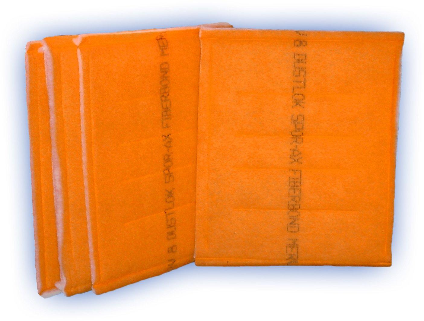 DustLok 3-ply Panel Filter 20 x 20 MERV 9 4-Pack