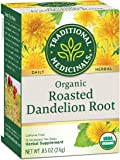 Wholesale Traditional Medicinals Organic Roasted Dandelion Root Tea - Caffeine Free - 16 Bags, [Food, Tea]