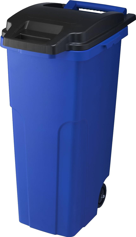 リス 『キャスター付ゴミ箱』 キャスターペール 70C2 70L 2輪 ブルー B007290RG4 70L|ブルー ブルー 70L