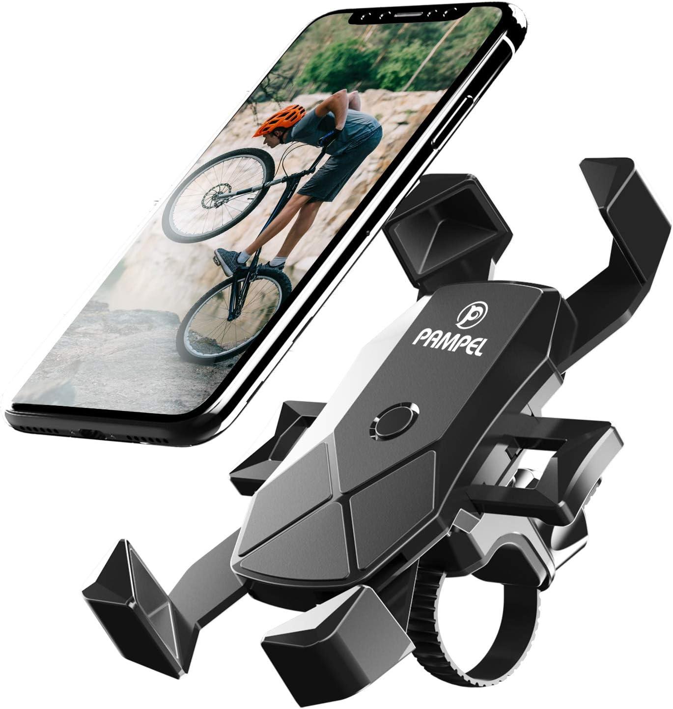 Pampel Fahrrad Handyhalterung Automatische Verriegelung Elektronik