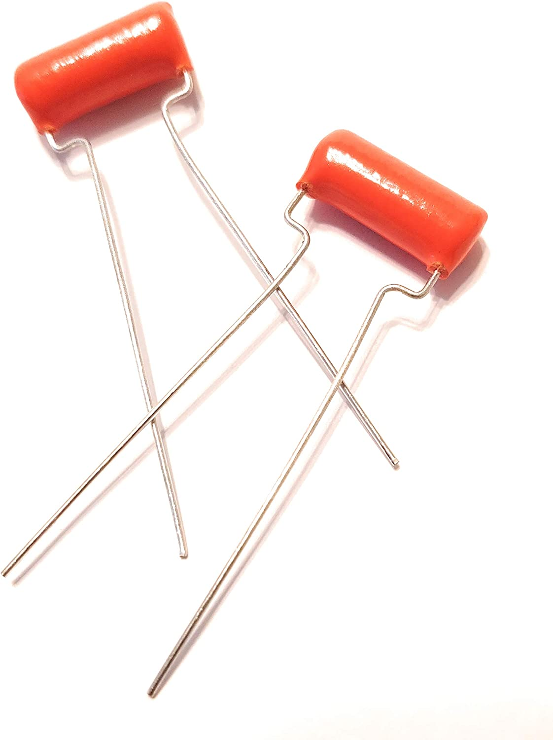 2 x .047uf 200v Orange Drop Guitar Tone Capacitors 715P Polypropylene 71n9l5f2HXL
