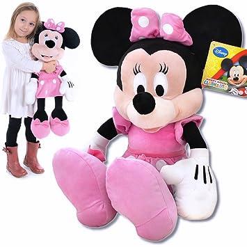 Peluche XXL de peluche Minnie Mouse Disney de casa de Mickey Mouse 62 cm