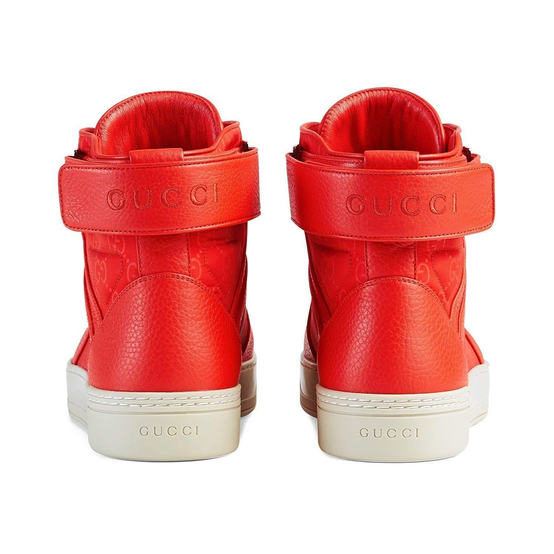 1d81915171e1 Amazon.com  Gucci Men s Basketball High-top Sneaker