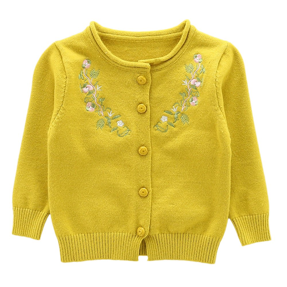 Moonnut Little Girls Cute Rabbit Knit Cardigan Sweater Baby//Toddler