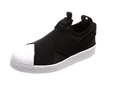 Adidas Superstar Slip On W, Scarpe da Ginnastica Donna, Nero Core Black/Ftwr White, 36 2/3 EU
