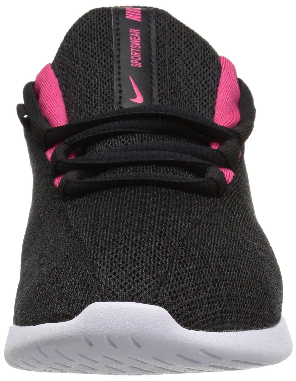 Nike Girls' Viale (GS) Running Shoe, Black/Rush Pink-White, 5Y Youth US Big Kid by Nike (Image #4)
