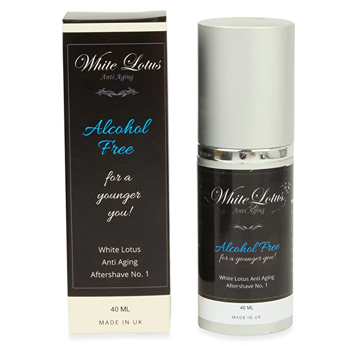 White Lotus Anti Aging - Aftershave Hipoalergénico White Lotus Nº1 Pieles Sensibles Perfume Sin Alcohol Para Hombre - Aceite Perfumado Natural Attar Ittar ...