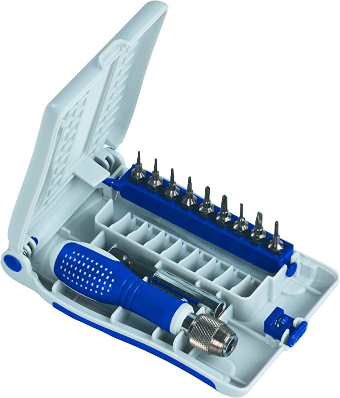 Juego de destornilladores de precisi/ón para destornilladores de punta fina y Phillips PH 6 piezas kwb