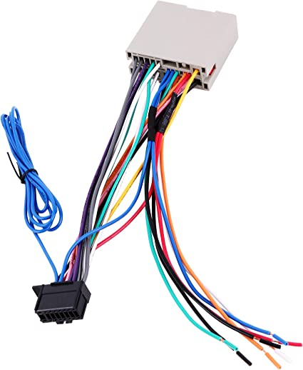 amazon.com: basiker stereo radio wiring harness for pioneer amp/swc plug  connector fit for 2004-2013 ford f150 escape focus, 2006-2010 lincoln town  car: car electronics  amazon.com