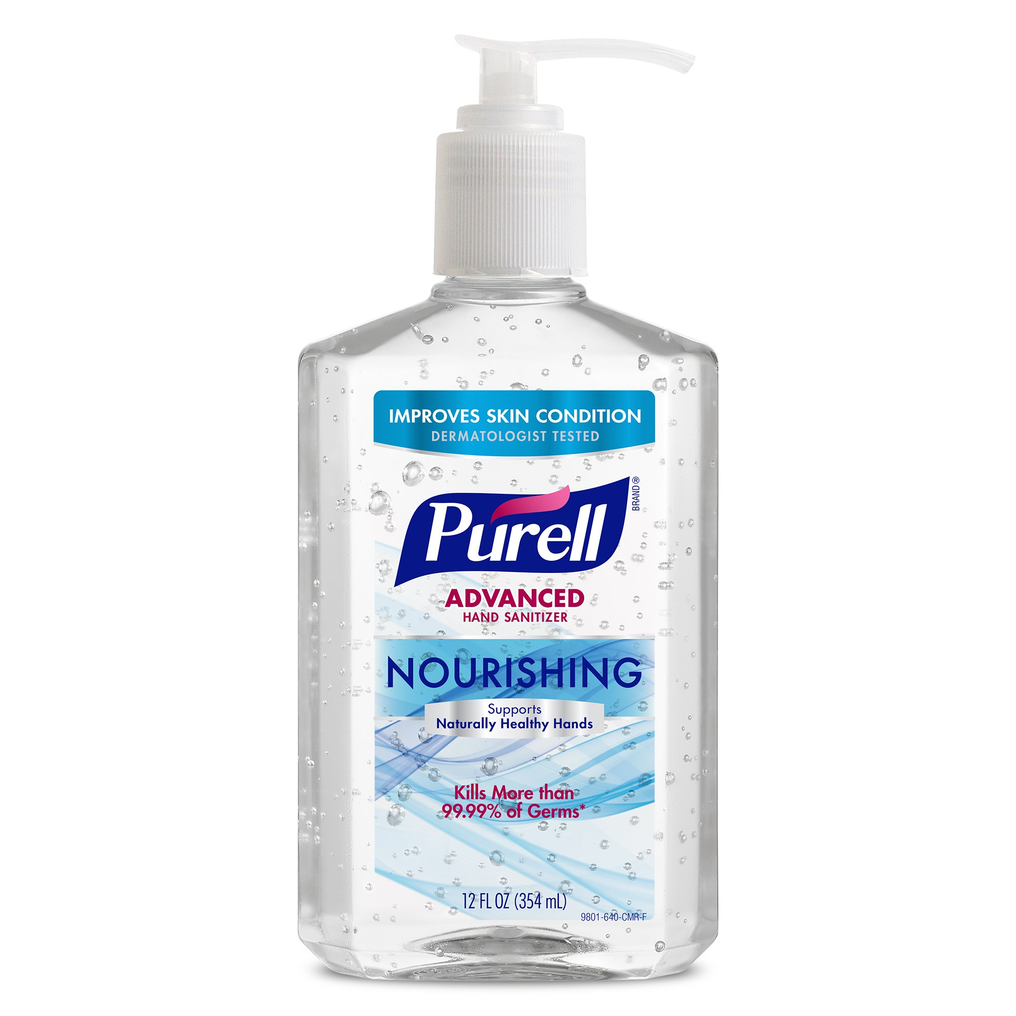 PURELL Advanced Nourishing Hand Sanitizer 12oz Pump Bottle (Pack of 18) by Purell