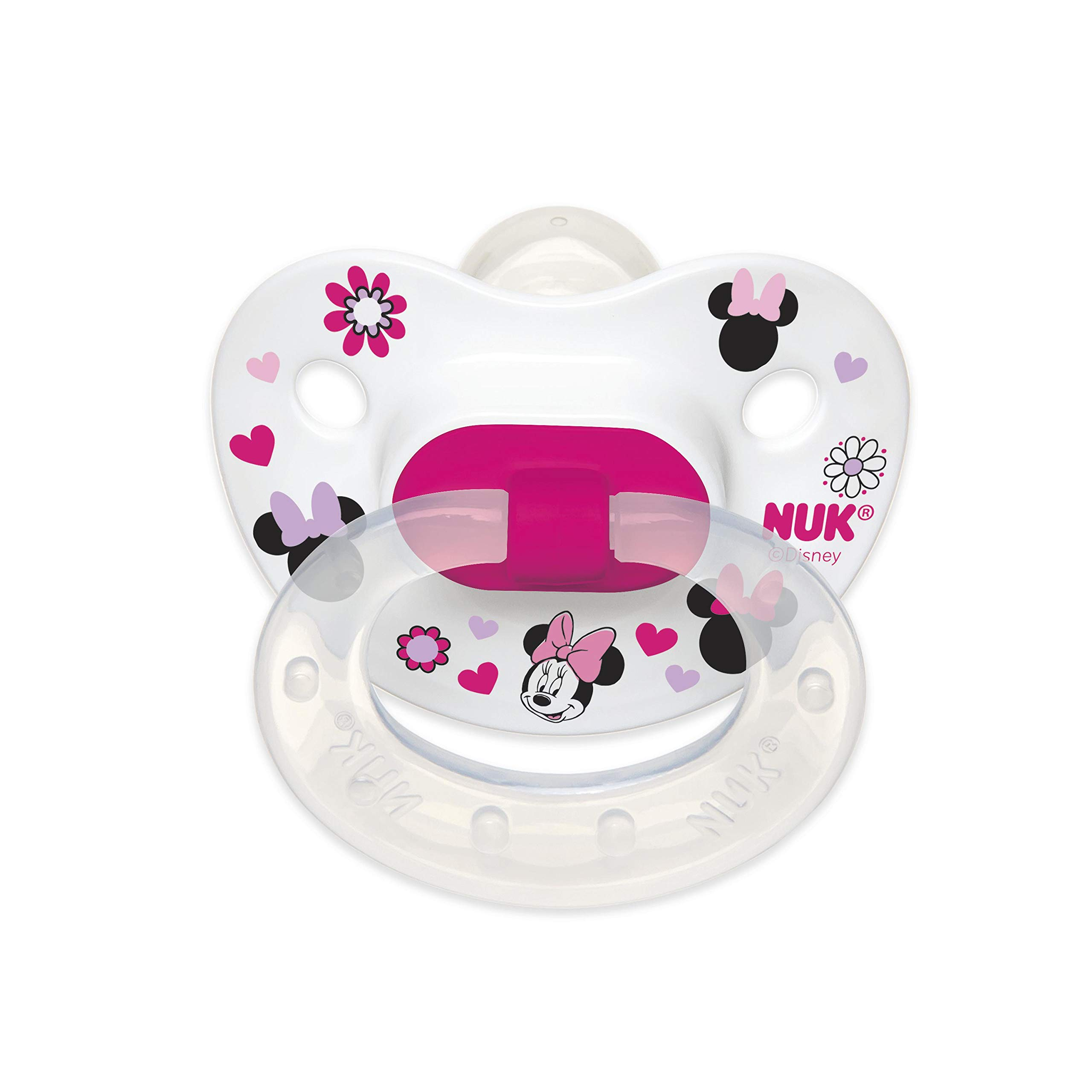 Amazon.com : NUK Airflow Orthodontic Pacifier 6-18 Months, 2 ...