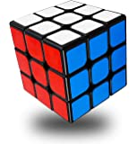 FAVNIC スピードキューブ 3x3x3 競技専用 ver2.1ポップ防止 世界基準配色 立体パズル おもちゃ