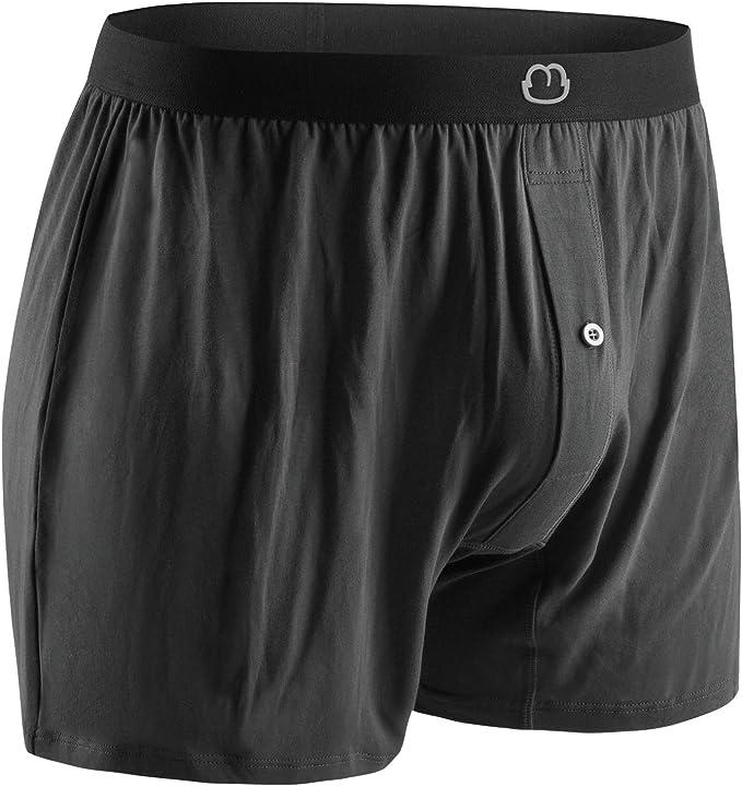 4PCS Mens Boxers Underwear Bamboo Fiber Shorts Briefs Men Seamless Pack New Soft