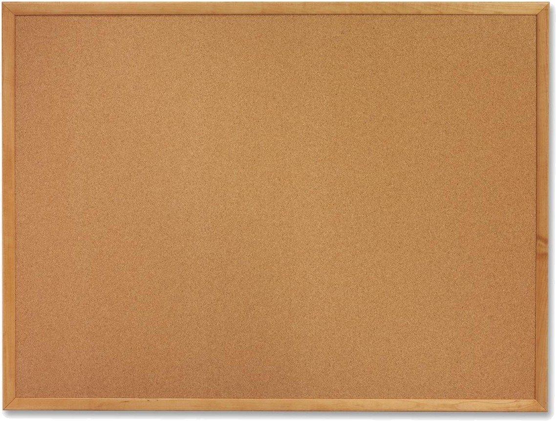 Tablero de corcho con moldura robusta 1200 X 600: Amazon.es: Hogar