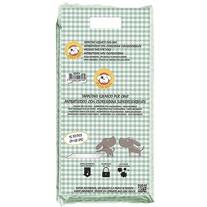 Super Toallitas Higiénicas De Entrenamiento Para Mascotas Clorexidina (60 x 90 cm / 15 pz