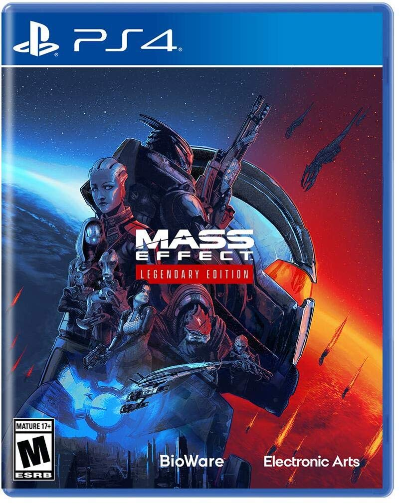 Poster. Mass Effect: Legendary Edition
