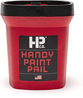 product image for Bercom 2500-CT Handy Paint Pail, 1 Pack, Red