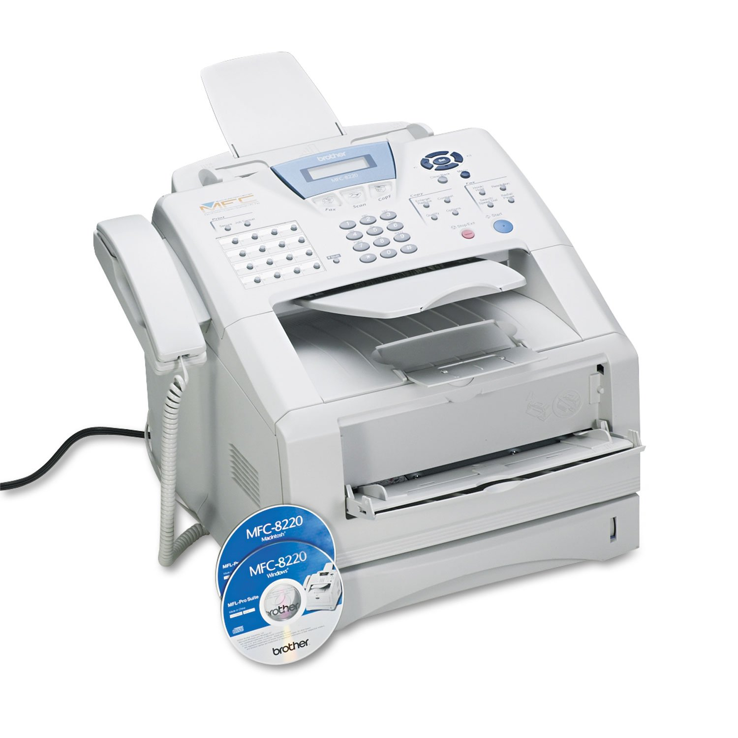 Brother MFC8220 Business Laser All-in-One Printer, Copy/Fax/Print/Scan