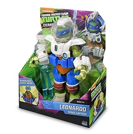 TORTUGAS NINJA - Leonardo, 28 cm: Amazon.es: Juguetes y juegos