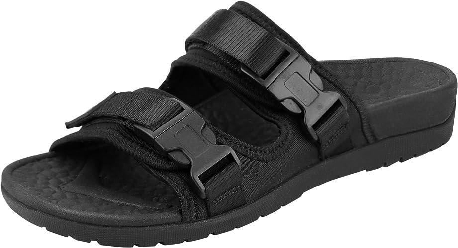 store coupon codes official images Amazon.com: Everhealth Orthotic Sandal Women Buckle Slide Sandals ...