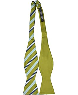 Woven Pixel Style Reversible Self-Tie Bow Tie