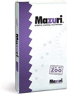 Mazuri Tortoise | Nutritionally Complete Low-Starch Tortoise Food | 25 Pound (25 lb.) Bag