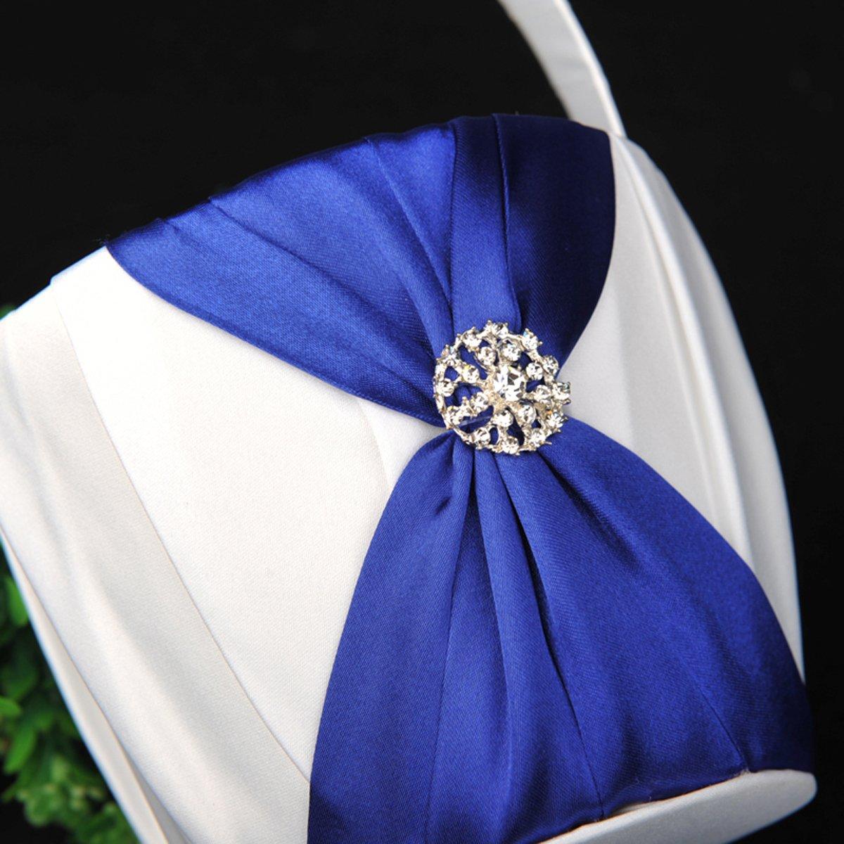 Famous Wedding Flower Girl Baskets Gift Blue Wedding Color Ideas