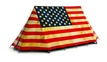 FieldCandy Old Glory American Flag 2-3 Person C&ing Tent  sc 1 st  Amazon.com & Amazon.com : FieldCandy Old Glory American Flag 2-3 Person Camping ...