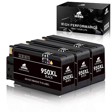 Amazon.com: Cartucho de tinta Ikong para HP 950XL, 951XL ...
